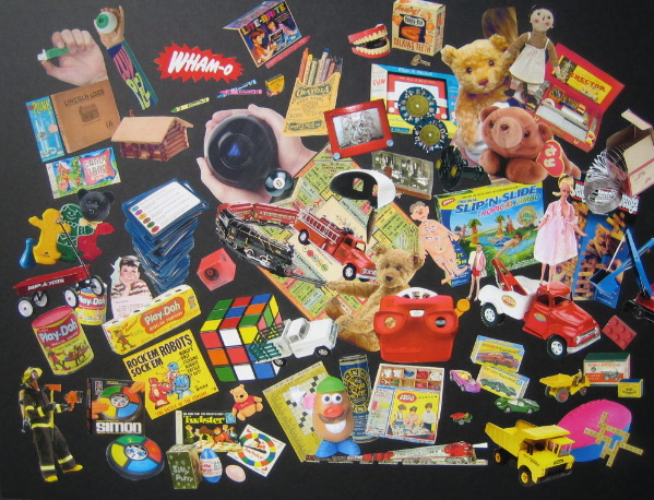Tom Frank • Toy Collage