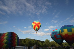 highlighted by the sun (x376) Tags: balloons hotairballoons northgeorgia helengeorgia
