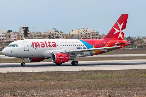 """9H-AEL, Air Malta, Airbus A319-112 - cn 2332.""""Marsaxlokk"""""""