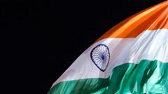 Indian Flag (ashwin kumar) Tags: india airport flag indian bangalore international tricolor kial kempegowda bengaluru bial