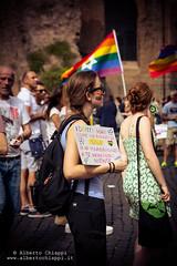 DSC_6062 (netalberto) Tags: gay man rome roma sexy male lesbian nude drag kiss centro pride parade queen baci capitale trans gender eventi lesbo nudi 2015 parata etero lesbiche transessuale omosessuale albertochiappi