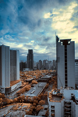 'Metropolis', Makati City, Philippines (Infrared Photography) (jc reyes) Tags: ir nikon philippines manila infrared manfrotto hoya falsecolors invisiblelight