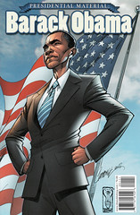 Barack Obama: Presidential Material (FranMoff) Tags: comicbooks campbell barackobama jscottcampbell presidentialmaterial