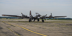 The Yankee Lady Comes Home (Janet's View2012) Tags: michigan aircraft wwii b17bomber willowrun