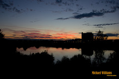 Nearly Dusk (Any Camera Will Do!!!) Tags: lake plant reflection night factory sugar refinery a46