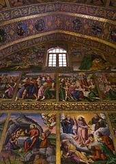 Artwork At Armenian Vank Cathedral, Isfahan Province, Isfahan, Iran (Eric Lafforgue) Tags: travel art tourism church vertical painting religious photography artwork mural asia christ iran cathedral interior religion decoration persia nobody nopeople christian indoors iranian orient esfahan province isfahan armenian ispahan vank إيران иран colourimage イラン irão isfahanprovince 伊朗 sepahan spadana 이란 hispahan iran150146
