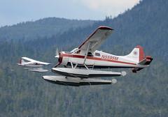 N5595M (John W Olafson) Tags: alaska seaplane ketchikan bushplane dehavillanddhc2beaver n5595m