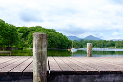 Coniston Pier (Ian Livesey) Tags: boat objects gondola coniston 2015 06june 20150623