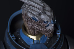 Gaming Heads Garrus Figure (Outpost 51) Tags: statue rifle sniper sciencefiction collector collectable masseffect garrus garrusvakarian gamingheads