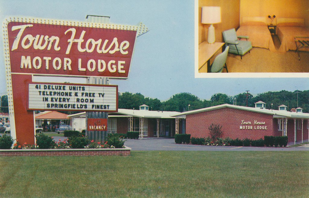 The world 39 s best photos of motel and springfield flickr for Town house motor inn