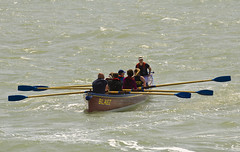 Phew that was a long Row (paulgreen596) Tags: sport boat rowing thesea oars westbay gigg broadchurch