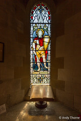 Streatley Church - June 2015-4 (andy.thorne25) Tags: church window june stainedglass 2015 streatley
