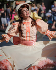 Dancing in the sun (ddindy) Tags: trolleyshow mainstreetusa magickingdom waltdisneyworld disneyworld disney orlando florida mainstreettrolleyshow