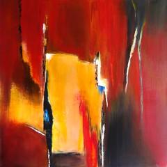 rays of colors (Birgit.Riemann) Tags: abstract rot art colors paint acrylic modernart kunst paintings canvas gelb rays bunt birgit acryl farben abstrakt malerei 2015 leinwand gemälde strahlen riemann zeitgenössischekunst acrylbilder acrylart birgitriemann raysofcolors