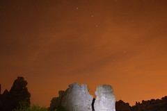 El Torcal (LaSole21) Tags: sky espaa rock night landscape spain andalucia andalusia malaga constellation landscapephotography nightphotograpghy