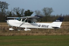 Cessna 172N Skyhawk G-BOUE (Old Buck Shots) Tags: keith sowter egsv