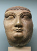 Face from a colossal statue, Ninevah c.700-695 BC (Monopthalmos) Tags: stonehead sphinx sennacherib ninevah assyria thebritishmuseum london