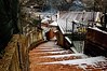 (switch82) Tags: snow ice cold freezing outdoor landscape stair winter white