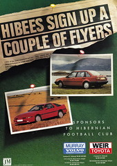 Hibernian vs Clydebank - 1989 - Page 8 (The Sky Strikers) Tags: hibernian hibs clydebank skol cup road to hampden easter matchday magazine one pound