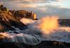 Waves of light (baroliere) Tags: italy italia liguria tellaro lerici sea seascape water rocks light sunset tramonto ngc