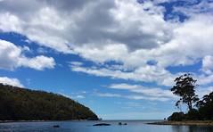 Canoe Bay. Safe and sound.
