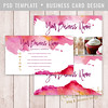 Layered Photoshop Template (daphnepopuliers) Tags: psd photoshop adobe template layered card photocard cardtemplate businesscard callingcard visitecard business marketing