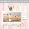 Layered Photoshop Template (daphnepopuliers) Tags: psd photoshop adobe template layered card cardtemplate photocard pricelist marketing business photostudio photographer photography