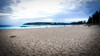 63+156: Manly beach at dusk (geemuses) Tags: manly manlybeach queenscliff queenscliffbeach dusk sunset beach water sea ocean nsw australia northernbeaches surf sand fishing beachvolleyball fishermen walkers exercise