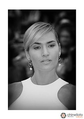 Kate Winslet (ChinellatoPhoto) Tags: venezia venice venicefilmfestival mostradelcinemadivenezia blackwhite portrait ritratto attore attrice actress actor katewinslet