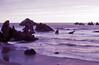 Heavenly Shades of Night are Falling, Bandon, OR 1976 (inkknife_2000 (7 million views +)) Tags: bandonor beach pacificocean sunset rockformations dgrahamphoto usa landscapes seascapes skyandclouds storm silouettes purple lavender heavenlyshadesofnightarefalling