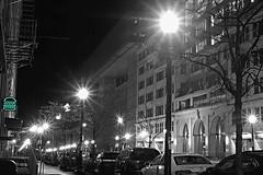 Shake Shack Noir (LaTur) Tags: street night urban city washingtondc dc dcist nightlife