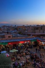 Marrakesh by sunset (Justin Zante) Tags: medina souk sunset koutoubia jemaa el fna épices spices market marché café aux epices marrakech marrakesh morocco maroc holidays canon 60d 1635l