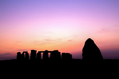 Stonehenge Sunset (Steven Musgrove Photography) Tags: stonehenge sunset ancient landmark monument england henge solstice landscape tourism circle stone famous heritage britain mysterious magical archeology ruins mystical megalithic wiltshire salisbury silhouette winter rock history historic tourist