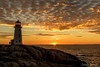 Peggy's Cove Sunset (londa.farrell) Tags: 2016 fall landscape novascotia november peggyscove afterdark autumn clouds coast dusk lighthouse ocean scenery sky sunset water canada