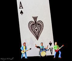 """Inspired by a Song"" (toonarmy59) Tags: macromondays inspiredbyasong motorhead rock britishrockband 1980 aceofspades miniature"