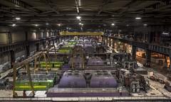 Purple Lego Power (Camera_Shy.) Tags: power station tresspassing urban exploration disused powerstation plant kraftwerk turbines lego bricks