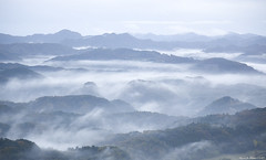 雲海 / sea of clouds (March Hare1145) Tags: 日本 japan 千葉 マザー牧場 雲 crowd fog 霧 山 mountain