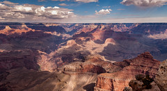 The Canyon (Ron Drew) Tags: nikon d200 arizona grandcanyon nationalpark cliff clouds park outdoors desert shadows