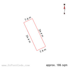 75 Petrie Plaza, Canberra 2601 ACT land size
