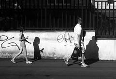 Sony Alpha A230 with Helios-44-2 - Play with Shadows 2 (Kojotisko) Tags: bw streetphotography brno creativecommons czechrepublic streetphoto helios442 helios442258 legacylens legacylenses sonyalphaa230