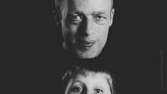 Father and a little bit son reup (Daniel Stroebel) Tags: light boy shadow people bw white selfportrait man black monochrome backlight germany dark studio bayern deutschland bavaria photography licht nikon fotografie father flash son menschen sw mann studioshot blitz lowkey schatten schwarz vater dunkel junge strobe sohn selbstporträt mittelfranken sidelight weis einfarbig streiflicht studioaufnahme middlefranconia d7000 oberferrieden danielströbel danielstroebel dstphotoartist