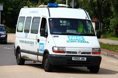 Yorkshire Ambulance Service Renault Master High Dependency Unit (PFB-999) Tags: high yorkshire ambulance renault master vehicle service van hull beacons dependency yas unit lightbar rotators yo02jhl