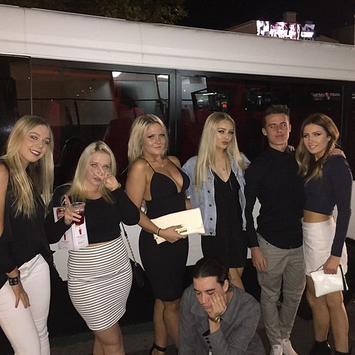 Savannah 18th birthday from Kogarah Party Shuttle on!