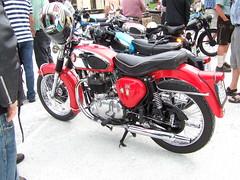 BSA Road Rocket A10 - 1955 (John Steam) Tags: road salzburg 1955 vintage austria meeting motorbike land motorcycle oldtimer rocket a10 bsa motorrad mauterndorf oldtimertreffen