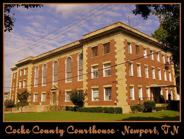 For Sale: TN Courthouse Postcard Collection: Cocke