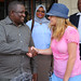 Connie Britton visit to Kenya and Rwanda