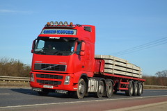 Volvo FH 'Saxon Motors' reg GL07 OFZ (erfmike51) Tags: lorry artic volvofh saxonmotors