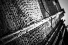 Bricks and pipes (nico_mller) Tags: urban blackandwhite canon bricks pipes 7d canonphotography canon7d