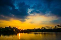 8/4  (chentgo) Tags: sunset  settingsun  ironrailway