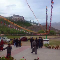 Magnificent view of Matho monastery (thupstan_rin) Tags: himalaya ladakh prayerflag tibetanbuddhism thelastshangrila mathomonastery thelastparadise